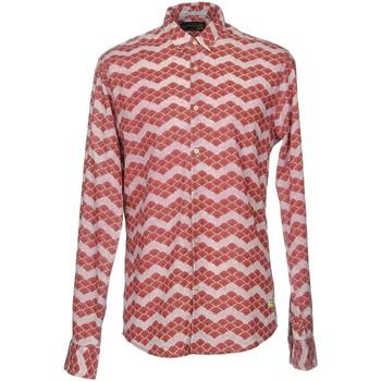 Vêtements Homme Chemises manches longues Scotch & Soda 136346 Parme