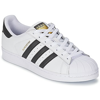 Chaussures Baskets basses adidas Originals SUPERSTAR Blanc / Noir