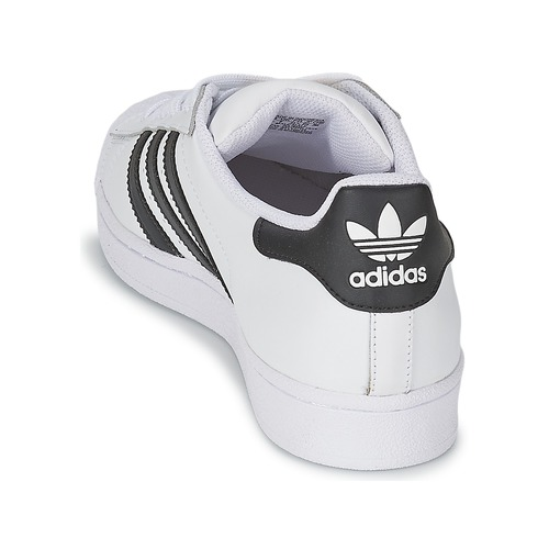 Baskets Originals Basses Superstar Adidas BlancNoir Qtshrd