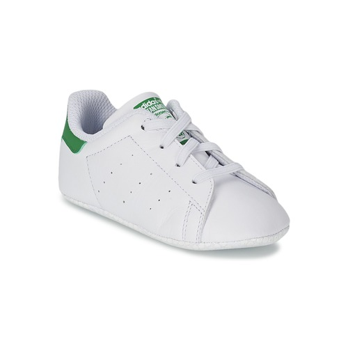 uk availability 41bdf c1e5f Chaussures Enfant Baskets basses adidas Originals STAN SMITH CRIB Blanc    vert