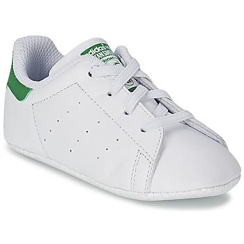 Baskets mode adidas Originals STAN SMITH CRIB Blanc / Vert 350x350
