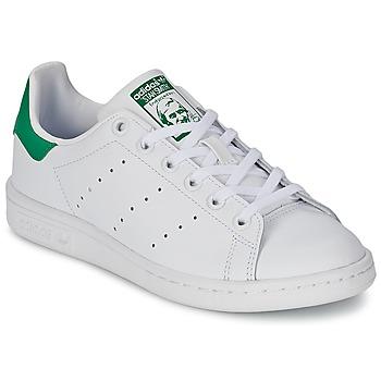 Baskets mode adidas Originals STAN SMITH J Blanc / Vert 350x350
