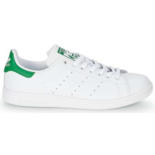 Stan Originals Adidas Smith Basses Baskets BlancVert SqUMLzpVG
