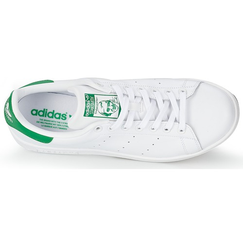 Baskets BlancVert Smith Stan Originals Basses Adidas XZiuPTwkO