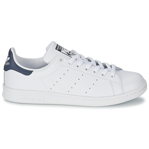 Adidas Baskets Basses Originals Stan BlancBleu Smith N0vm8Onw
