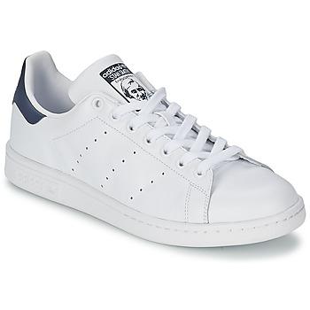Baskets mode adidas Originals STAN SMITH Blanc / Bleu 350x350