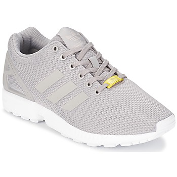 Chaussures Homme Baskets basses adidas Originals ZX FLUX Gris / Blanc