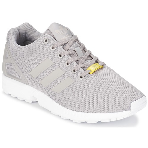 Baskets mode adidas Originals ZX FLUX Gris / Blanc 350x350