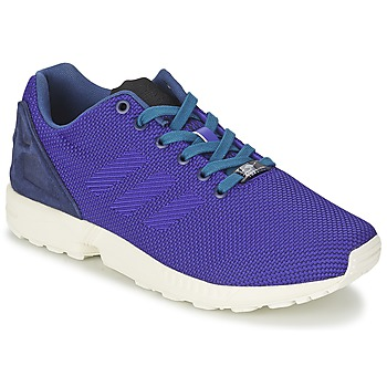 Baskets mode adidas Originals ZX FLUX WEAVE Bleu 350x350