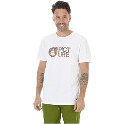 Vêtements Homme T-shirts & Polos Picture Organic Clothing Basement Pinup Blanc