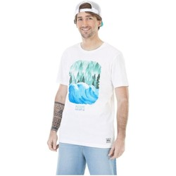 Vêtements Homme T-shirts & Polos Picture Organic Clothing Postcard Wave Blanc