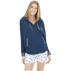 Vêtements Femme Sweats Picture Organic Clothing Alloa bleu marine