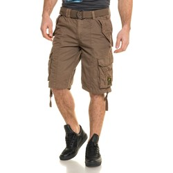 Vêtements Homme Shorts / Bermudas Geographical Norway Bermuda cargo marron storm stylé marron