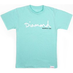 Vêtements Homme T-shirts manches courtes Diamond Supply CAMISETA  PRINTED ITEM CORE Bleu