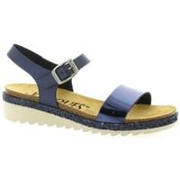 Chaussures Femme Sandales et Nu-pieds K. Daques Nu pieds cuir Marine