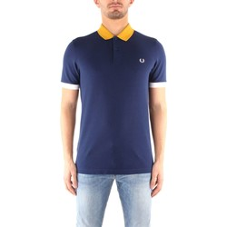 Vêtements Homme Polos manches courtes Fred Perry M3553 T-shirt Homme FRENCH NAVY FRENCH NAVY