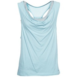 Vêtements Femme Débardeurs / T-shirts sans manche Bench SKINNIE Bleu