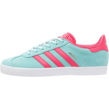 Chaussures Baskets basses adidas Originals CHAUSSURES ADIDAS GAZELLE J BY9545 TURQUOISE