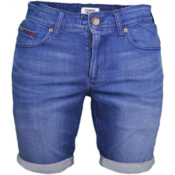 Vêtements Homme Shorts / Bermudas Tommy Jeans Short en jean  bleu slim pour homme Bleu