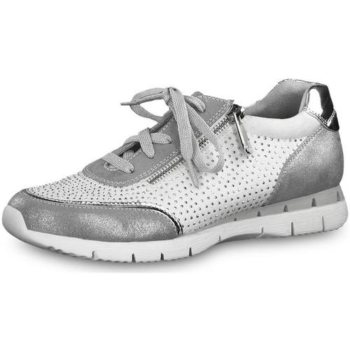 Chaussures Femme Baskets basses Marco Tozzi 23721 blanc