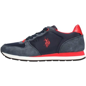 Chaussures Homme Baskets basses U.S Polo Assn. U.s. Polo Assn. SHERIDAN1 Sneaker Homme Rouge Rouge