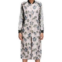 Vêtements Femme Robes courtes adidas Originals Track Jacket Long Vestito Donna CW4724 rose