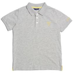 Vêtements Garçon Polos manches courtes Guess Polo Garçon Gris L71P21 Gris