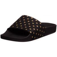 Chaussures Femme Claquettes Thewhitebrand l-0009 noir