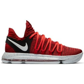 Chaussures Enfant Baskets basses Nike Chaussure de basket  Zoom KD 10 GS Red Velvet pour junior Multicolor