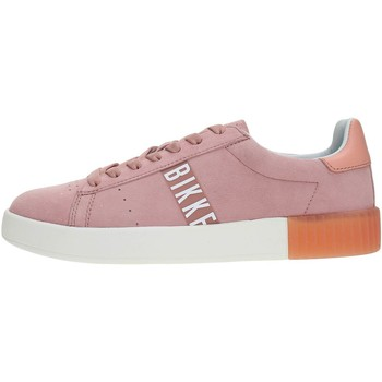 Chaussures Femme Baskets basses Bikkembergs BKW10200 Sneakers Femme PINK PINK