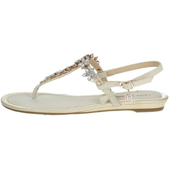 Chaussures Femme Tongs Laura Biagiotti 610 Tongs Femme Blanc Blanc