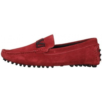 Chaussures Homme Mocassins Versace loafer Rouge