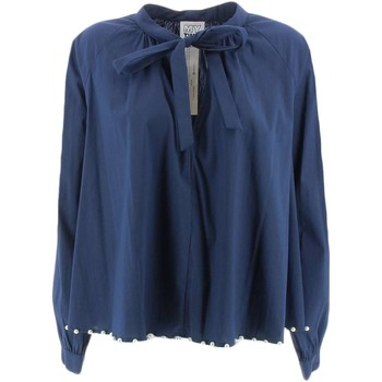Vêtements Femme Chemises / Chemisiers My Twin By Twin Set JA72TN shirts Femme bleu bleu