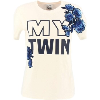 Vêtements Femme T-shirts manches courtes My Twin By Twin Set YS82D9 T-shirt Femme blanc blanc