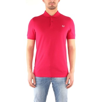Vêtements Homme Polos manches courtes Fred Perry M6000 T-shirt Homme Terracotta / Snow White Terracotta / Snow White