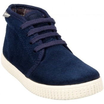 Chaussures Fille Baskets mode Victoria Montante 06760 Marine Bleu