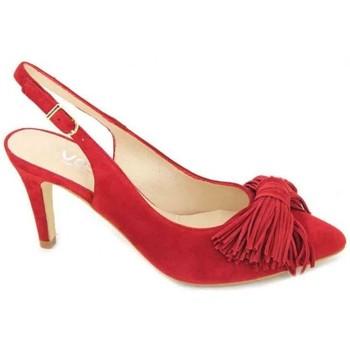 Chaussures Femme Sandales et Nu-pieds Calzados Vesga Estiletti 2284 Zapatos de Mujer rouge