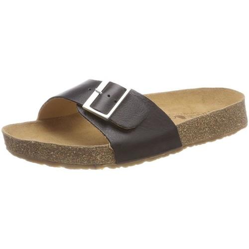 Haflinger 819015 marron - Chaussures Mules Femme