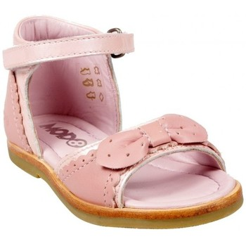 Chaussures Fille Baskets mode Mod'8 Mod8 Nue Pied Ambre Rose Rose