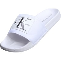 Chaussures Homme Mules Calvin Klein Jeans Vital Nylon Blanc
