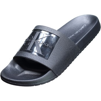 Chaussures Homme Mules Calvin Klein Jeans Vincenzo Jelly Noir