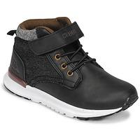 Chaussures Garçon Baskets montantes Kappa TELMO EV Noir
