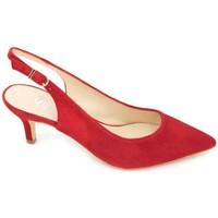 Chaussures Femme Sandales et Nu-pieds Estiletti 2345 Chaussures Habillées pour Femmes Rouge