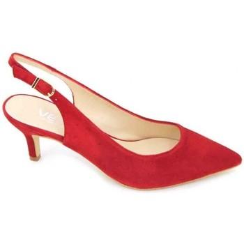 Chaussures Femme Sandales et Nu-pieds Calzados Vesga Estiletti 2345 Zapatos de Vestir de Mujer rouge