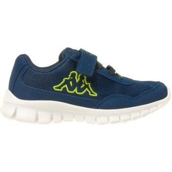 Chaussures Enfant Baskets basses Kappa Follow K Bleu marine