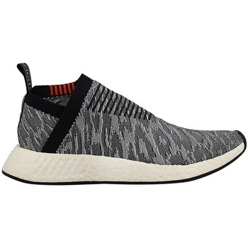 Chaussures Homme Baskets basses adidas Originals Nmd CS2 Primeknit Core Blackfuture Harvest Gris