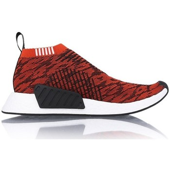 Chaussures Homme Baskets basses adidas Originals NMDCS2 Primeknit Future Harvest Rouge