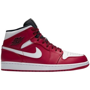 Chaussures Homme Baskets montantes Nike Air Jordan I Mid Rouge