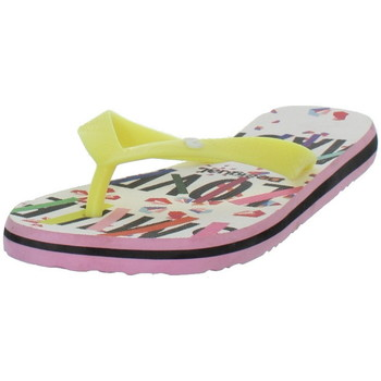 Chaussures Tongs Desigual Tongs  Flip Flop Geometry Now ref_des43434 Blanc