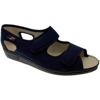 Chaussures Femme Chaussons Gaviga GA180bl blu
